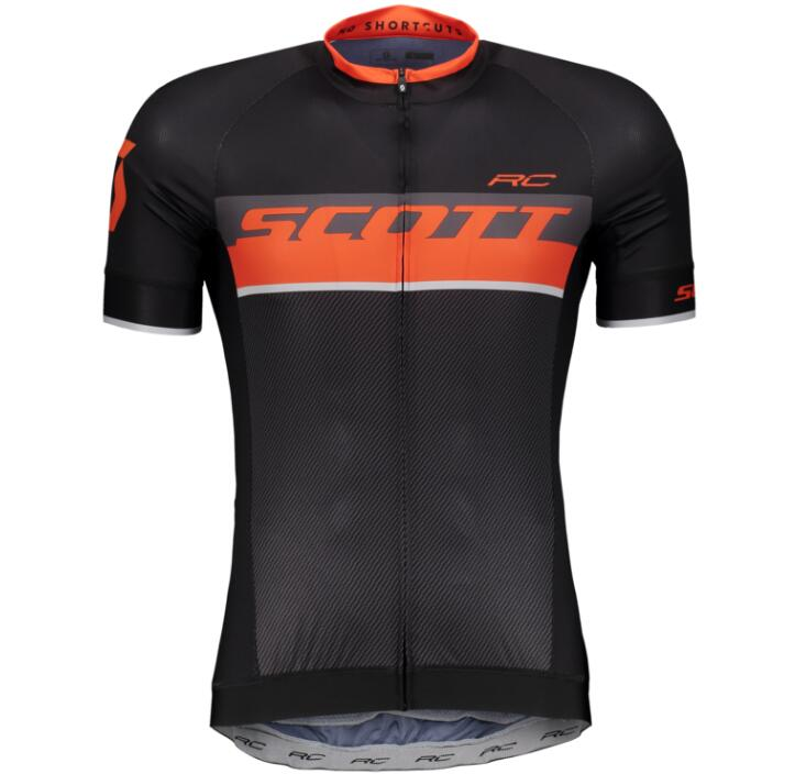 2018 SCOTT RC PRO tangerine orange Cykeltröja kort ärm